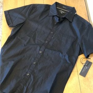 Marc Anthony Short Sleeve Button Down Size S Men's